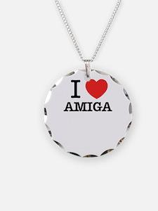 I Love AMIGA Necklace