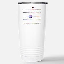 Unique Mixed musical notes color Travel Mug
