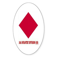 5th INFANTRY (M) Oval Decal
