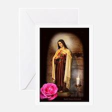 Saint Therese Greeting Card