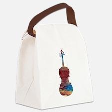 Viola Canvas Lunch Bag