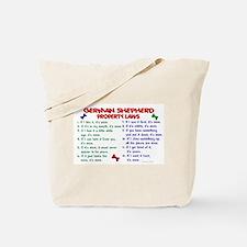 German Shepherd Property Laws 2 Tote Bag