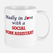 Madly in love with a Social Work Assistant Mugs