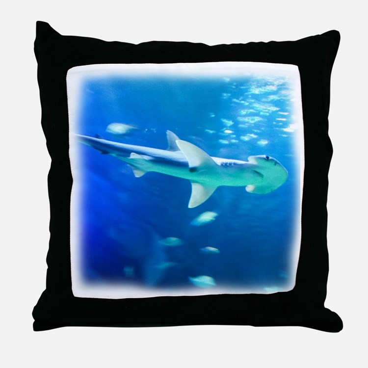 Hammerhead Shark Pillows, Hammerhead Shark Throw Pillows & Decorative Couch Pillows