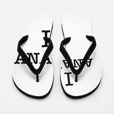 I Love ANAHEIM Flip Flops