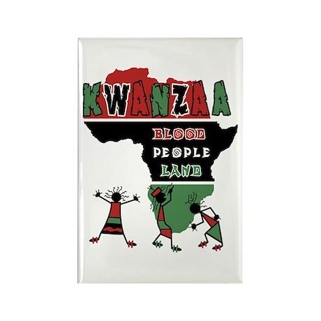 Kwanzaa Rectangle Magnet