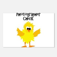 Cute Photographer Chick Postcards (Package of 8)