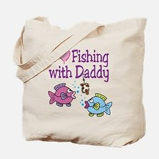 I Love Fishing With Daddy Tote Bag
