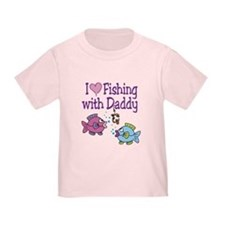 I Love Fishing With Daddy T