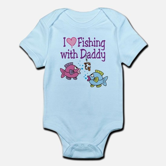 I Love Fishing With Daddy Infant Bodysuit