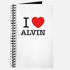 I Love ALVIN Journal