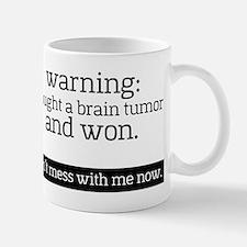 I fought a Brain Tumor Mugs