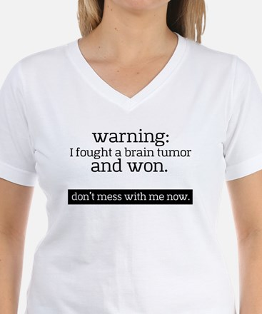 I fought a Brain Tumor T-Shirt