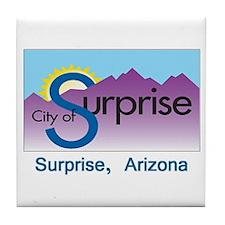 Surprise AZ Flag Tile Coaster