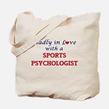 Madly in love with a Sports Psychologist Tote Bag