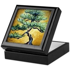 Bonsai Pine Tree Keepsake Box