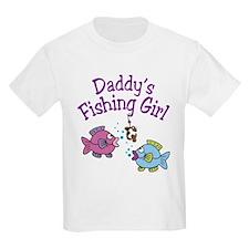 Daddy's Fishing Girl T-Shirt