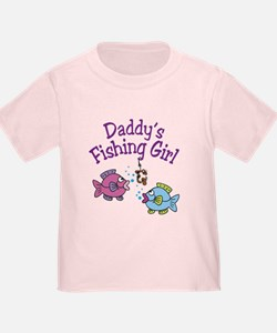 Daddy's Fishing Girl T