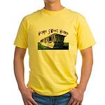 Trailer Home Yellow T-Shirt