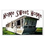 Trailer Home Rectangle Sticker