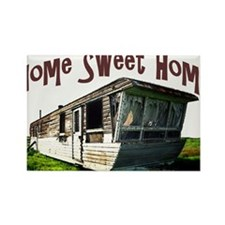 Trailer Home Rectangle Magnet