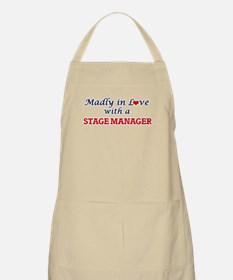 Madly in love with a Stage Manager Apron