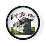 Trailer Home Wall Clock