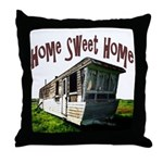 Trailer Home Throw Pillow