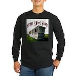 Trailer Home Long Sleeve Dark T-Shirt