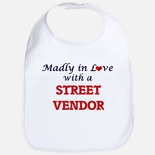 Madly in love with a Street Vendor Bib