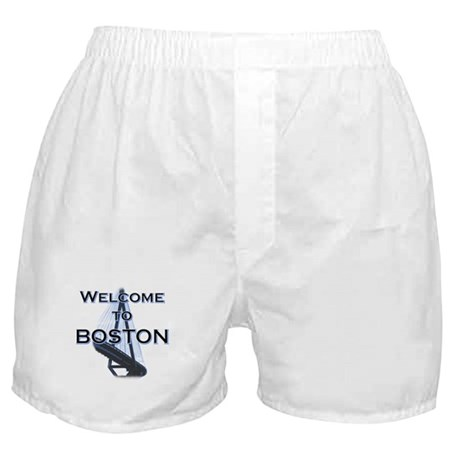 Welcome to Boston Boxer Shorts