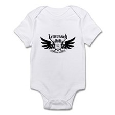 Vytis Crown and Flame Infant Bodysuit