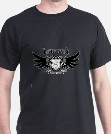 Vytis Crown and Flame T-Shirt
