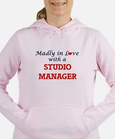 Madly in love with a Stu Women's Hooded Sweatshirt