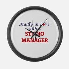 Madly in love with a Studio Manag Large Wall Clock