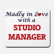 Madly in love with a Studio Manager Mousepad