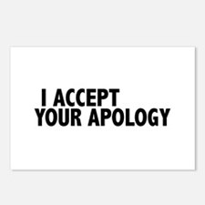 I accept your apology (Colbert) Postcards (Package