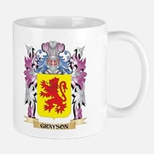 Grayson Coat of Arms (Family Crest) Mugs