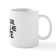 I don't see color (Colbert) Mug