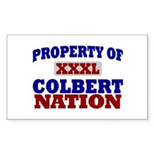 Colbert Nation Rectangle Decal