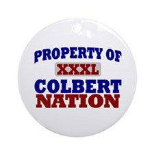 Colbert Nation Ornament (Round)