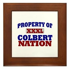 Colbert Nation Framed Tile