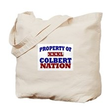 Colbert Nation Tote Bag