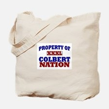 Colbert Nation Tote Bag