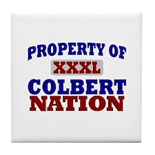 Colbert Nation Tile Coaster