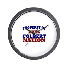 Colbert Nation Wall Clock