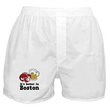 Better in Boston Boxer Shorts