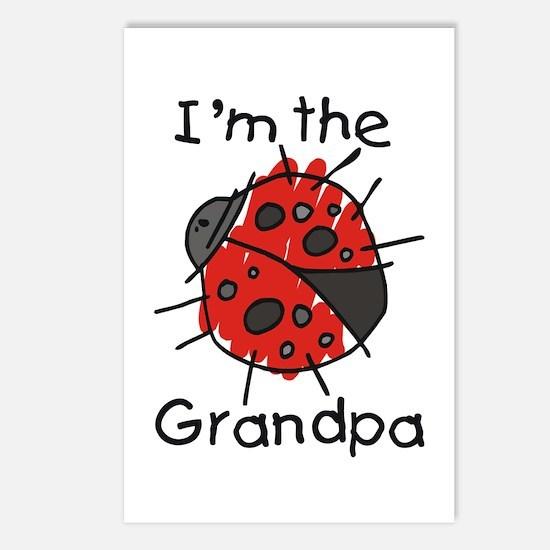 I'm the Grandpa Ladybug Postcards (Package of 8)