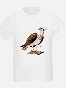 Osprey Bird of Prey (Front) Kids T-Shirt