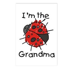 I'm the Grandma Ladybug Postcards (Package of 8)